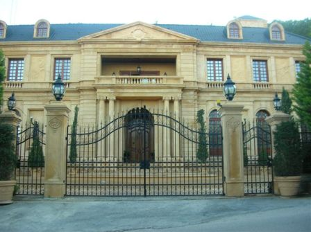 Custom Wrought Iron Gates : Exterior Residential Doors : Borano.com